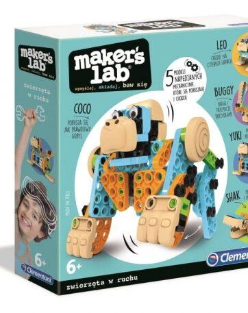 Zdjęcie Clementoni Maker's Lab Zabawne zwierzęta - producenta CLEMENTONI