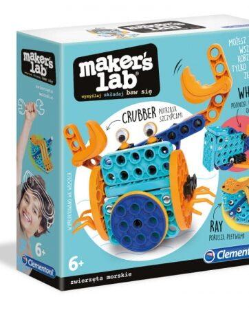 Zdjęcie Clementoni Maker's lab Zwierzęta morskie zestaw konstrukcyjny - producenta CLEMENTONI