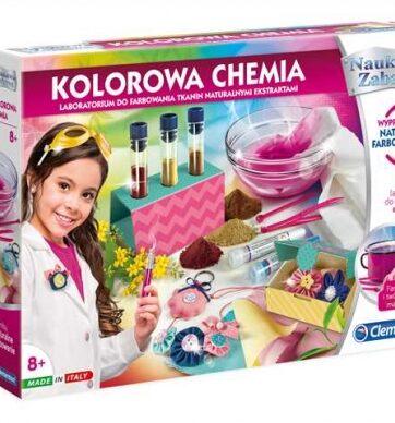 Zdjęcie Clementoni Naukowa zabawa Kolorowa chemia - producenta CLEMENTONI
