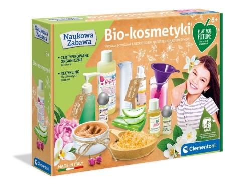 Zdjęcie Clementoni Naukowa zabawa Zestaw kosmetyków BIO - producenta CLEMENTONI