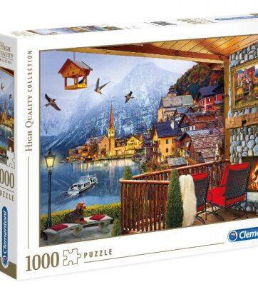 Zdjęcie Clementoni Puzzle 1000el HQ Hallstadt - producenta CLEMENTONI