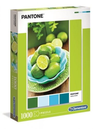 Zdjęcie Clementoni Puzzle 1000el - Pantone Juicy Lime - producenta CLEMENTONI