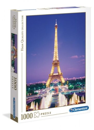 Zdjęcie Clementoni Puzzle 1000el Paryż Wieża Eifeel'a - producenta CLEMENTONI