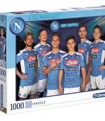 Zdjęcie Clementoni Puzzle 1000el SSC Napoli 1 2020 - producenta CLEMENTONI