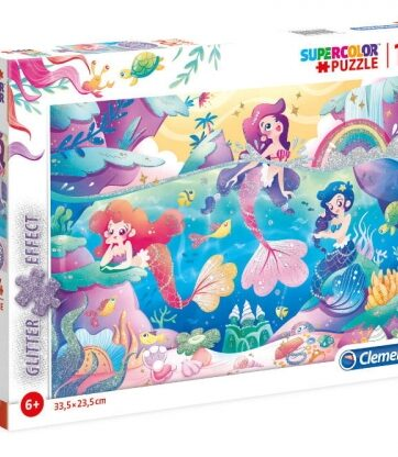 Zdjęcie Clementoni Puzzle 104el Glitter Under the sea - producenta CLEMENTONI