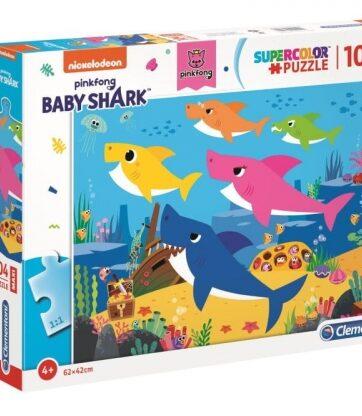 Zdjęcie Clementoni Puzzle 104el Maxi Baby Shark - producenta CLEMENTONI