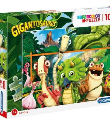 Zdjęcie Clementoni Puzzle 104el Maxi Gigantozaury - producenta CLEMENTONI