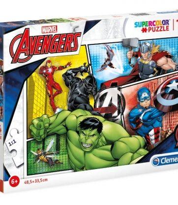 Zdjęcie Clementoni Puzzle 104el The Avengers - producenta CLEMENTONI