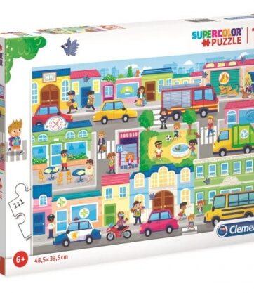 Zdjęcie Clementoni Puzzle 104el - W mieście - producenta CLEMENTONI