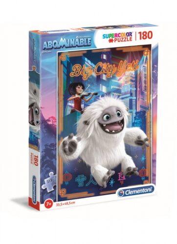 Zdjęcie Clementoni Puzzle 180el - Abominable O Yeti! - producenta CLEMENTONI