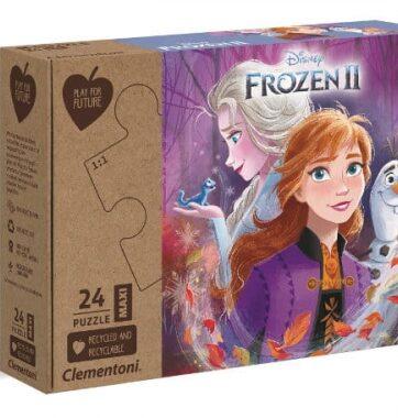 Zdjęcie Clementoni Puzzle 24el Maxi Play for future - Kraina Lodu 2 - producenta CLEMENTONI