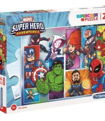 Zdjęcie Clementoni Puzzle 24el Maxi Super Hero Adventures - producenta CLEMENTONI