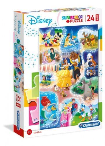 Zdjęcie Clementoni Puzzle 24el Maxi podłogowe Disney Dance Time - producenta CLEMENTONI