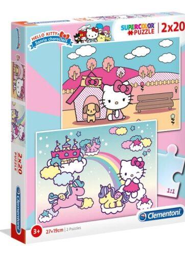 Zdjęcie Clementoni Puzzle 2x20el Hello Kitty - producenta CLEMENTONI