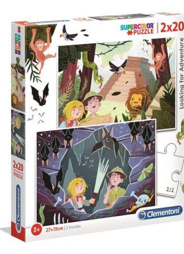 Zdjęcie Clementoni Puzzle 2x20el Looking for adventure - producenta CLEMENTONI