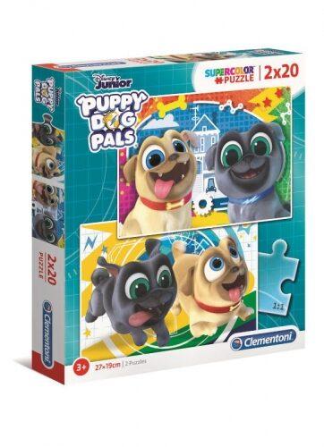 Zdjęcie Clementoni Puzzle 2x20el PUPPY DOG PALS - producenta CLEMENTONI