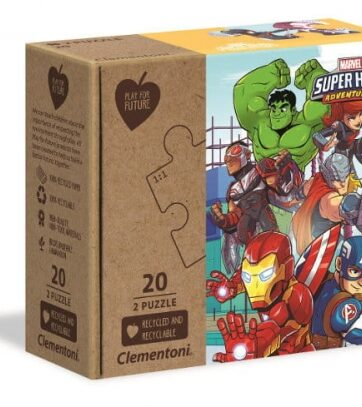Zdjęcie Clementoni Puzzle 2x20el Play For Future Super Hero Adventures - producenta CLEMENTONI