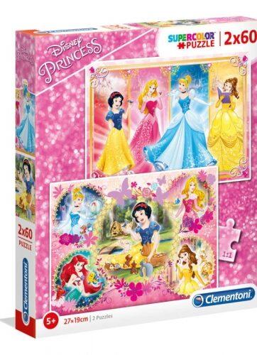 Zdjęcie Clementoni Puzzle 2x60el - Księżniczki - producenta CLEMENTONI