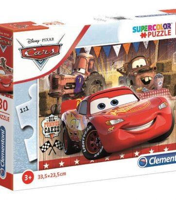 Zdjęcie Clementoni Puzzle 30el Auta Cars - producenta CLEMENTONI