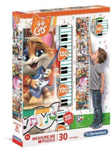 Zdjęcie Clementoni Puzzle 30el Miarka 44 Koty - producenta CLEMENTONI