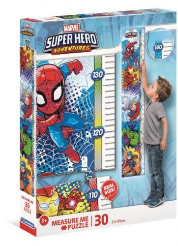 Zdjęcie Clementoni Puzzle 30el Miarka Super Hero Adventures Marvel - producenta CLEMENTONI