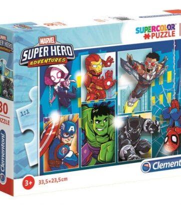 Zdjęcie Clementoni Puzzle 30el Super Hero Adventures - producenta CLEMENTONI