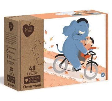 Zdjęcie Clementoni Puzzle 3x48el Play for future - Be my pal - producenta CLEMENTONI