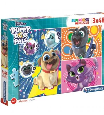 Zdjęcie Clementoni Puzzle 3x48el Puppy Dog Pals - producenta CLEMENTONI