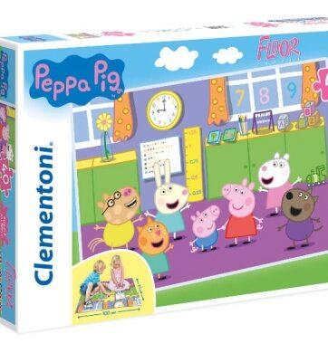 Zdjęcie Clementoni Puzzle 40el podłogowe Świnka Peppa - producenta CLEMENTONI