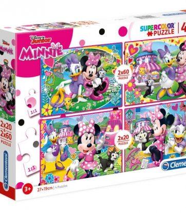 Zdjęcie Clementoni Puzzle 4w1 2x20+2x60el - Minnie - producenta CLEMENTONI