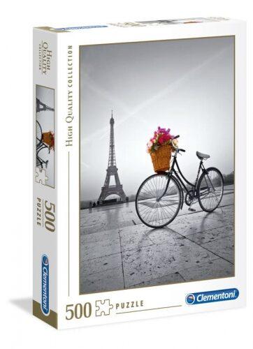 Zdjęcie Clementoni Puzzle 500el Romantyczna Promenada w Paryżu - producenta CLEMENTONI