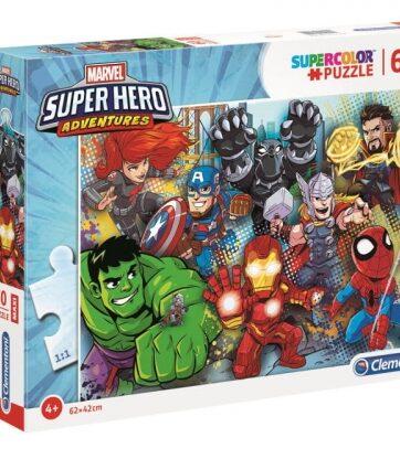Zdjęcie Clementoni Puzzle 60el Maxi Super Hero Adventures - producenta CLEMENTONI