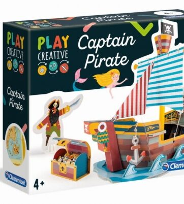 Zdjęcie Clementoni - kreatywna zabawa statek piratów - producenta CLEMENTONI