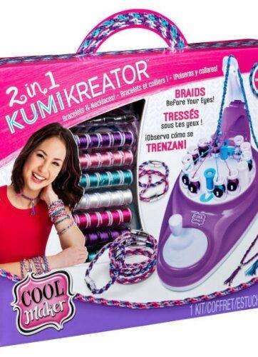Zdjęcie Cool Maker KUMIKREATOR 2w1 Bransoletki i naszyjniki - producenta SPIN MASTER