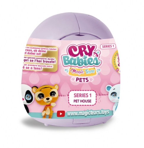 Zdjęcie Cry Babies Pet House - Zwierzaki do kolekcjonowania - producenta TM TOYS