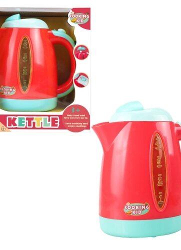 Zdjęcie Czajnik elektryczny czerwony na baterie - producenta ASKATO