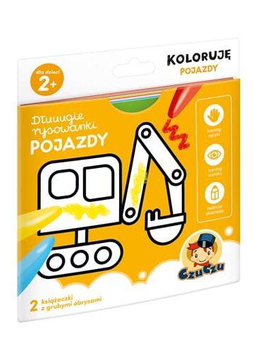 Zdjęcie CzuCzu Dłuugie rysowanki Pojazdy Koloruję - producenta CZUCZU