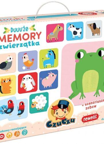 Zdjęcie CzuCzu Duuuże memory Zwierzątka - producenta CZUCZU