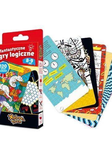 Zdjęcie CzuCzu Xplore Team Fantastyczne Gry Logiczne dla dzieci 8-9 lat - producenta CZUCZU