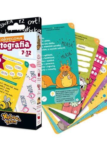 Zdjęcie CzuCzu Xplore Team Zakręcona Ortografia 7-12 lat - producenta CZUCZU