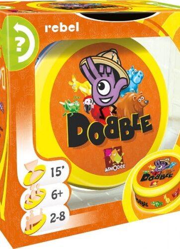 Zdjęcie Dobble Zwierzaki gra REBEL - producenta REBEL