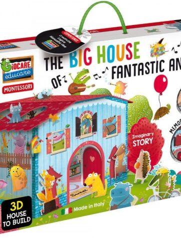 Zdjęcie Dom do składania fantastyczne zwierzęta - zestaw Montessori - producenta LISCIANI GIOCHI