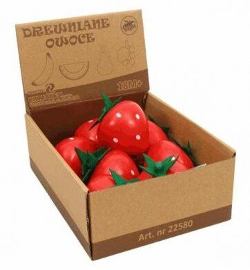 Zdjęcie Drewniany owoc truskawka - producenta BRIMAREX