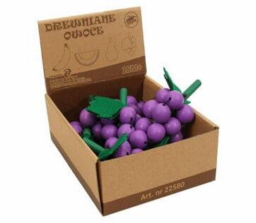 Zdjęcie Drewniany owoc zabawka winogrono - producenta BRIMAREX