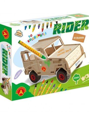 Zdjęcie Drewniany pojazd do składania Składaki drewniaki rider - producenta ALEXANDER