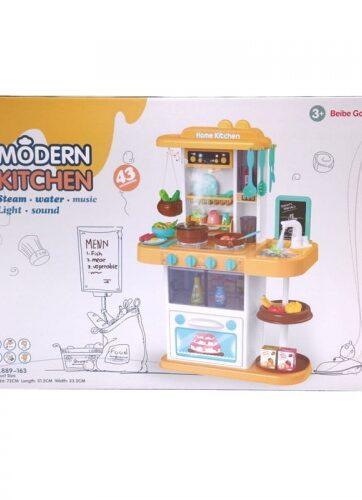 Zdjęcie Duża kuchnia dla dzieci nowoczesna z akcesoriami - producenta NORIMPEX