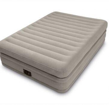 Zdjęcie Duże łóżko dmuchane podwójna konstrukcja materaca wbudowana pompka - Intex - producenta INTEX