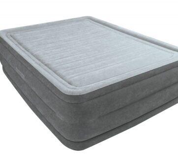 Zdjęcie Duże łóżko dmuchane wbudowana pompka 152x203x56cm - producenta INTEX
