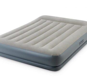 Zdjęcie Duże łóżko dmuchane z poduszką wbudowana pompka 220-240V - 64118 INTEX - producenta INTEX