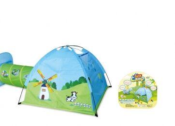Zdjęcie Duży Namiot dla dzieci Iglo z tunelem 310x123 cm - producenta HH POLAND